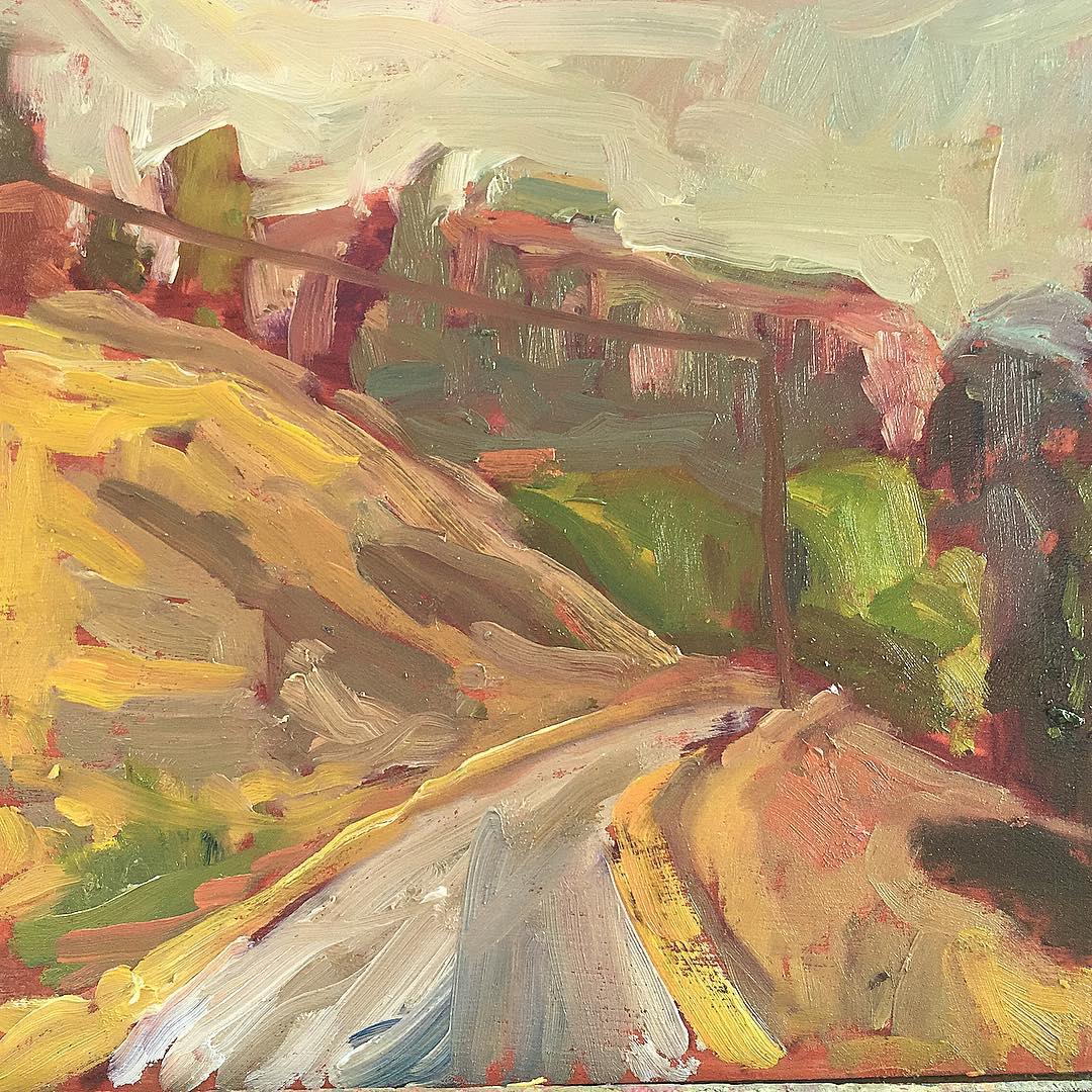 Road above Skaha