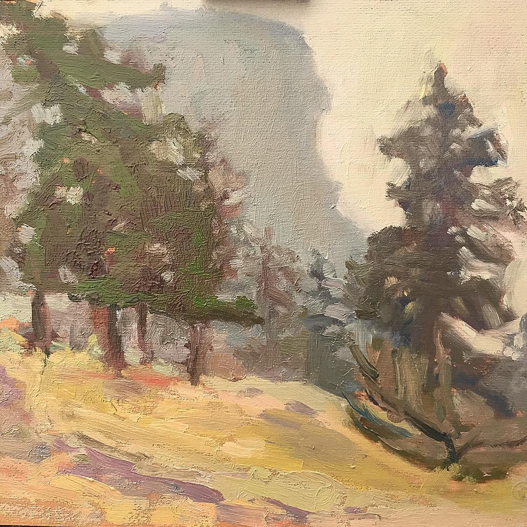 McIntyre Bluff colour study. 3 of 3