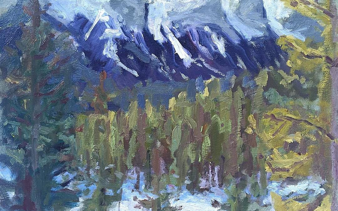 Rockies sketch
