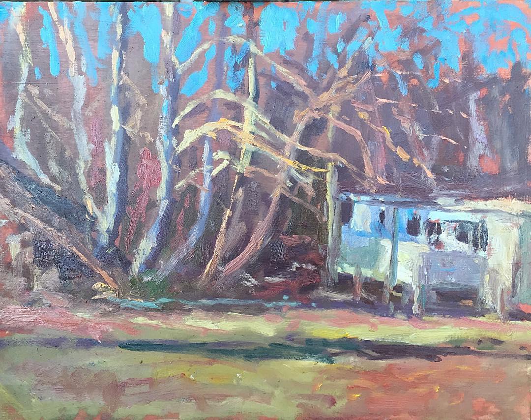 Trailer light#impressionism