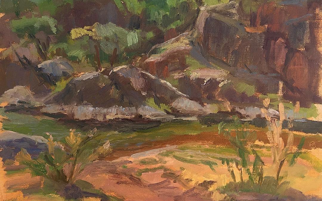 Rocks at Spur Cross Ranch