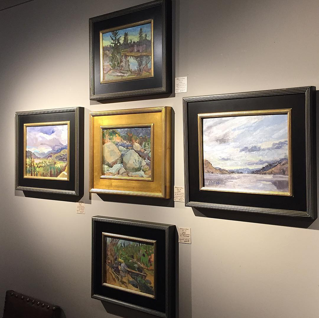 Thankful to be represented in by Martin St. Gallery in Pentiction, BC.