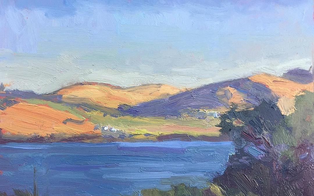 Douglas Lake. 10 x 8.