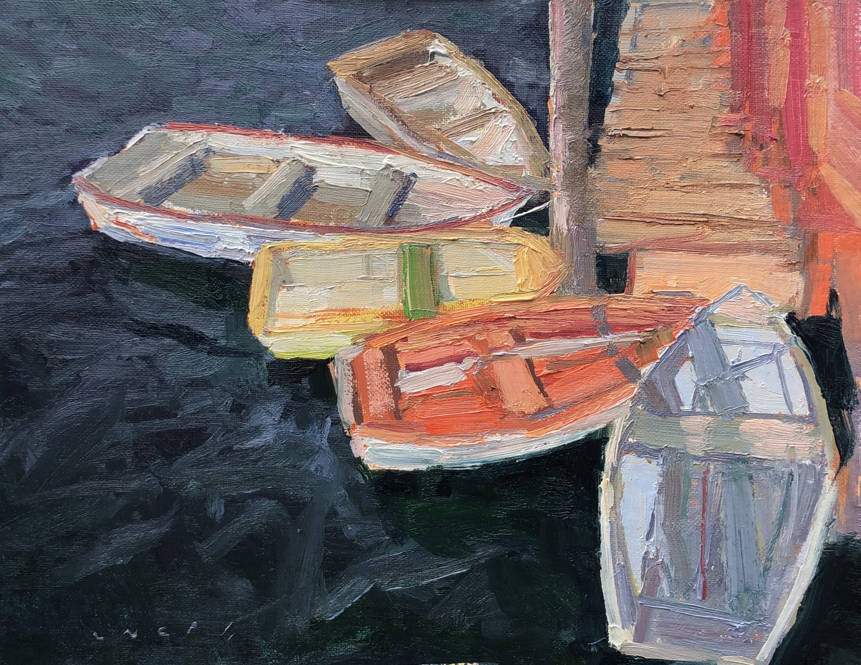 Rowboats at Burgoyne park, Salt Spring Island