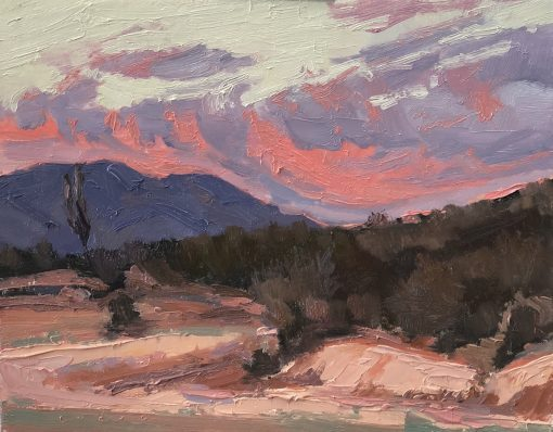 Baja California Sur Sunset oil painting