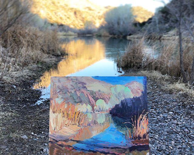 Dusk at Verde River