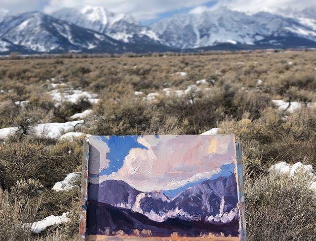 Grand Teton cloud shadows