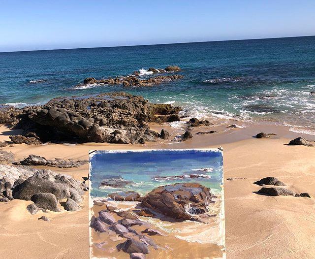 Shoreline Rocks near San Jose Del Cabo