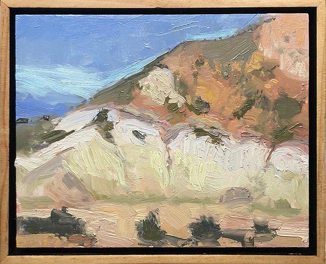 Cali Hillside Little 8 x 10 color study