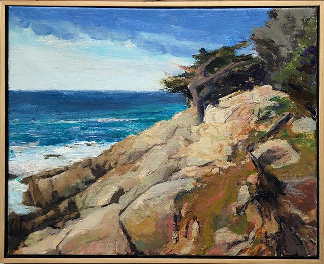 Cypress on 17 Mile Drive. 16 x 20. Available. Framed or unframed. DM for details. Be healthy and safe, all!