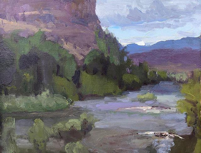 Vaseaux Creek.